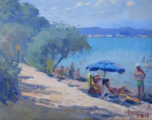 Талантливый художник Илли Харуни (Ylli Haruni родом из Албании работает в прекрасном жанре - импрессионизм. Его картина наполнены легкостью и гармонией. Его образы, которые он хотел показать