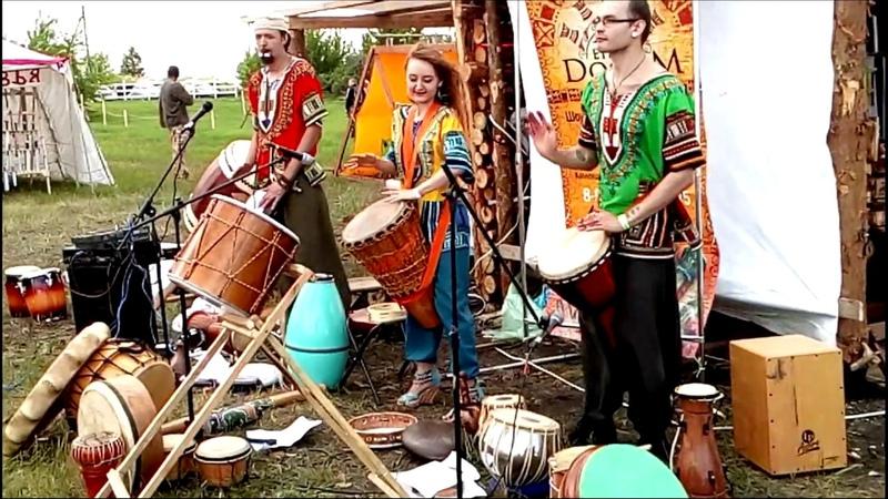 Этнодум на фестивале Данбург 2018