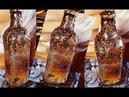 Decoupagem em garrafa com guardanapo, perola e cola quente ( Passo a passo )