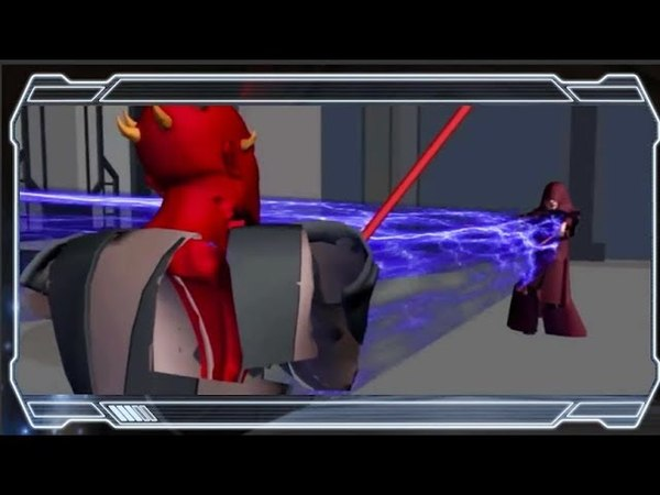 Star Wars The Clone Wars: Darth Maul Vs. Darth Sidious - Deleted Scene