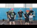 танец мальчиков-зайчиков