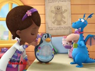 Доктор Плюшева-s2e25. Свет мой, зеркальце-пингвин + Прятки-пугалки