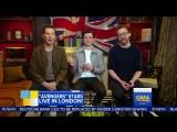 """Бенедикт Камбербэтч, Том Холланд и Том Хиддлстон на """"Доброе утро, Америка"""" ¦ Война Бесконечности"""