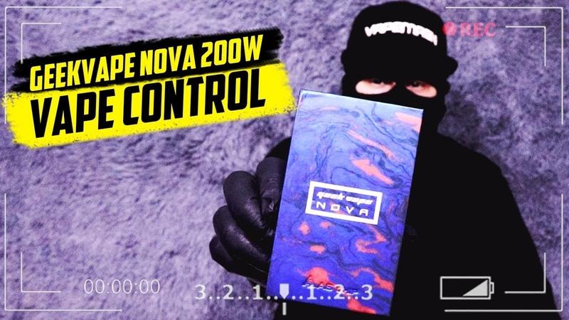 УБИЙЦА DRAG Geekvape Nova 200W Лучший боксмод 2019 года | VAPECONTROL