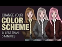 Recolor your character fast and easily 【 Digital Art Tips and Tricks 】