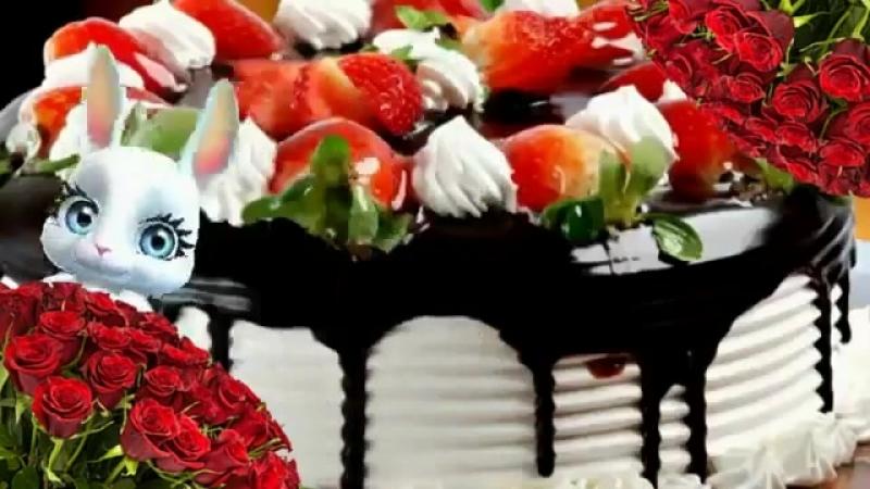 С Днем Рождения в июле! Зуби зайка! Красивое поздравление С Днем Рождения в Июле!