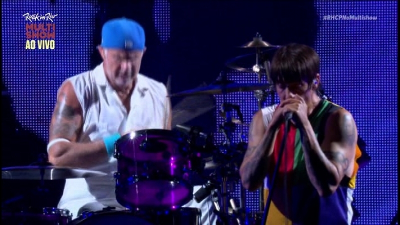 Red Hot Chili Peppers-Rock in Rio.2017.