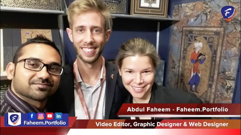Publishing House Müller Schindler Germany Abu Dhabi Book Fair Abdul Faheem