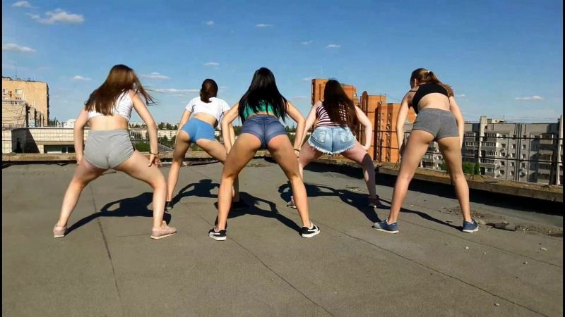 танец тверк dance twerk (Denzel Curry, Ekali- Babylon skrillex remix)