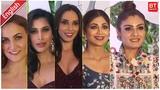 Green Carpet of Asia Spa's Fit &amp Fabulous Awards 2018 Shilpa Shetty Raveena Iulia V