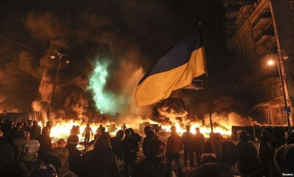 Дим в Києві на грушевського фото