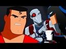 Justice League Action Россия Плохой коп против Бэтмена Серия 4