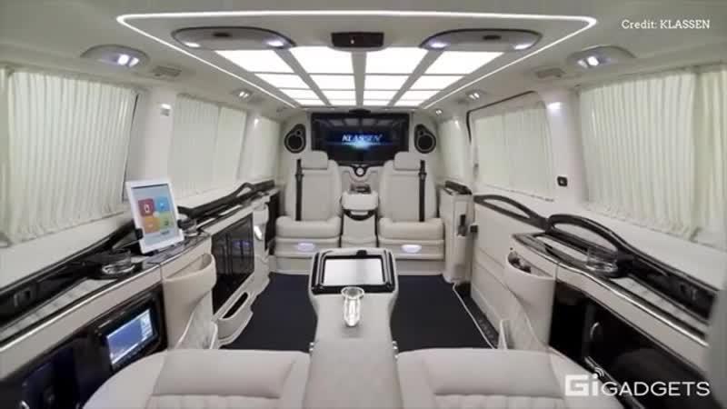 Klassen ® Luxury Car Design Mercedes V-Class Limousine klassen ® luxury car design mercedes v-class limousine
