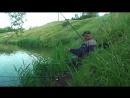 (Видео)-3-07-2018г-Рыбалка за плотиной-место под деревом-карась-200-300 гр.