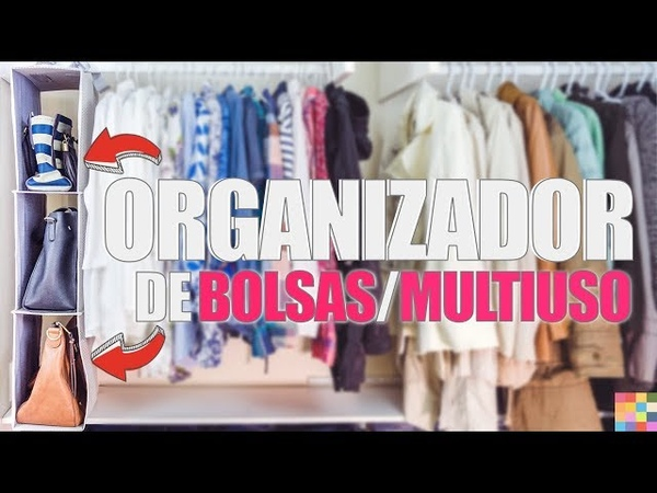 DIY - Organizador de BOLSAS Multiuso 👜👜👜