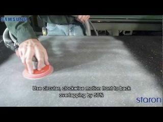 Полировка столешницы из искусственного камня от 4800 руб.