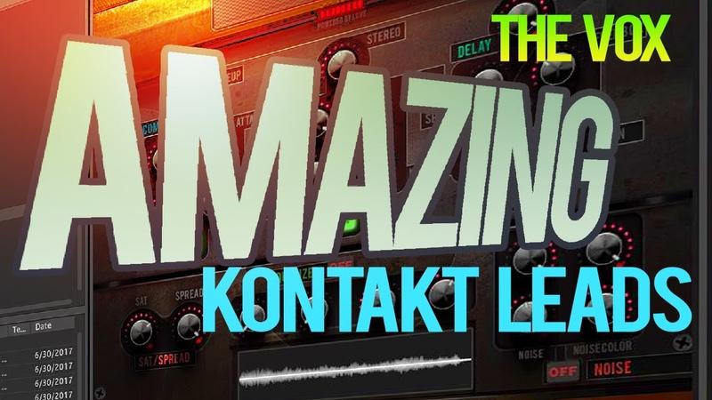 Angel Cano The Vox v1 - Modern Electronic Samples for KONTAKT