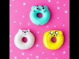 Пончики с персонажами Cartoon Network