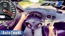 Corvette ZR1 6 2 V8 SUPERCHARGED 300km h AUTOBAHN POV by AutoTopNL