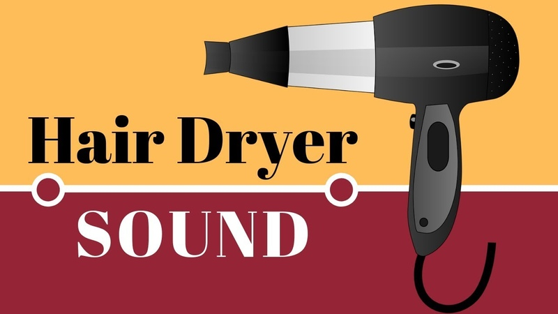 Hair Dryer Relaxing Sound White Noise For Relaxation Soothing A Baby Sleep Trick