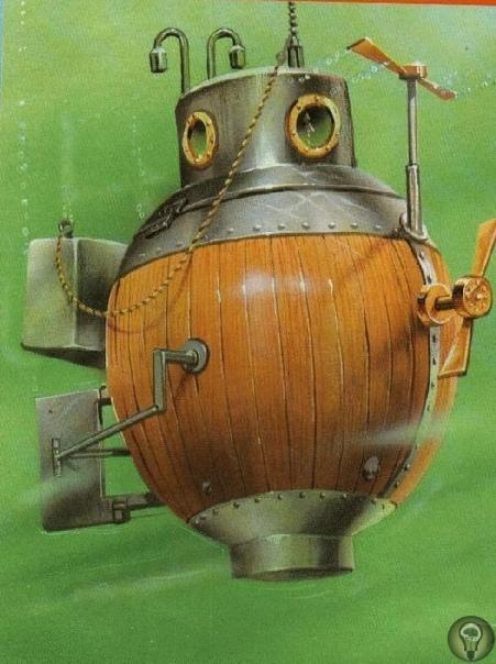 «Черепаха» против «Орла»: история первой в мире боевой подводной лодки. Представьте себе ситуацию. Вы, уже немолодой офицер британского флота, стоите на борту британского флагмана «Орел».
