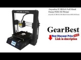 Anycubic I3 MEGA Full Metal Frame FDM 3D Printer - Review  GearBest unboxing