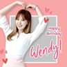 "Shilla Duty Free Singapore on Instagram: "" ReVeLuv, let's celebrate HappyWendyDay with a heartfelt birthday wish for the lovely Wendy! 💙 We wish"