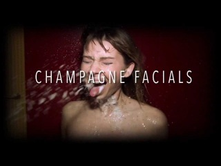 Champagne Facials  The Guzzler, Spitter, Blow Out, and Body Shot