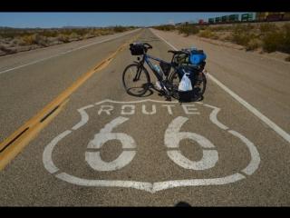 По США на велосипеде. USA cross country by bicycle
