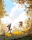 Картины о том, что счастье в мелочах от художника Pascal Campion! Живите здесь и сейчас!