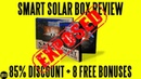 Smart Solar Box Review (2019) ⚠️WARNING⚠️ Watch This First!