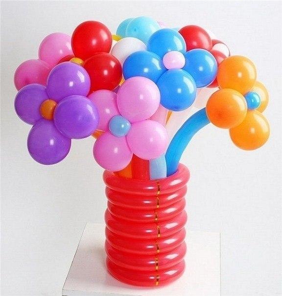 Оформление воздушными шарами vk
