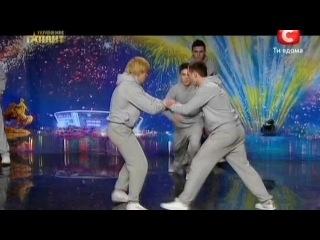 Команда CRAZY Jump - Украина Мае Талант 4