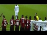 Cam Supporter Cristiano Ronaldo Free Kick vs Milan Ibrahimovic Real Madrid