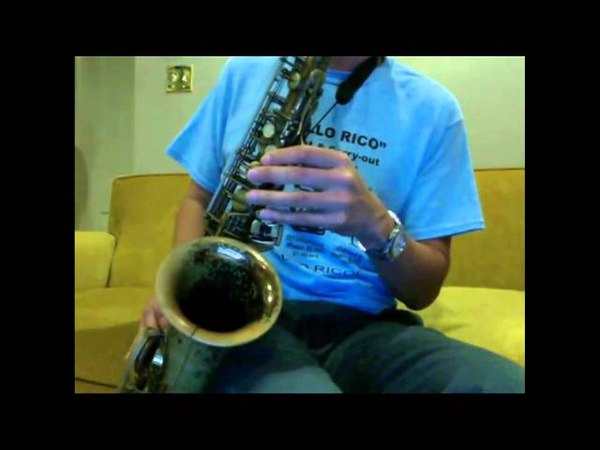 Vintage Brilhart Level Aire Mouthpiece on 1967 Selmer Mark VI Alto Saxophone