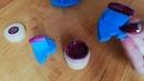 Гель краска Canni 636 Aliexpress Как правильно наносить
