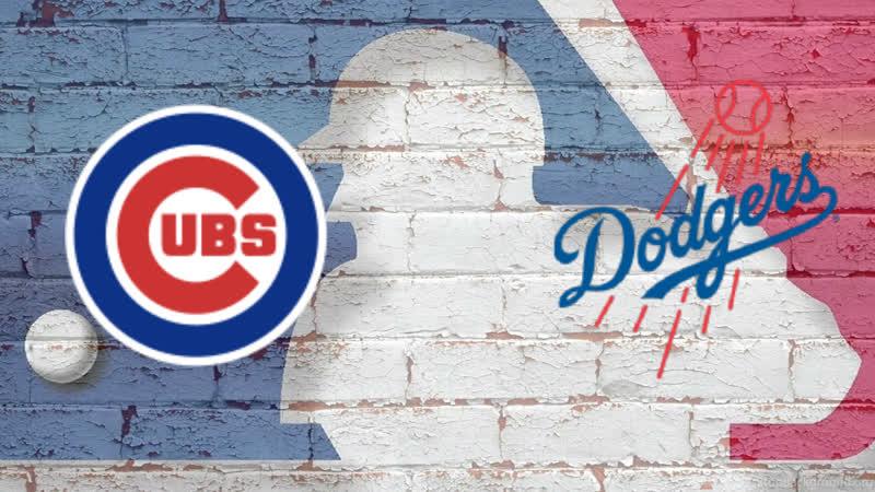 Chicago Cubs vs Los Angeles Dodgers 15.06.2019 NL MLB 2019 3 4