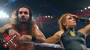 Becky Lynch supports Seth Rollins after he loses the Universal Title WWE Exclusive July 14 2019