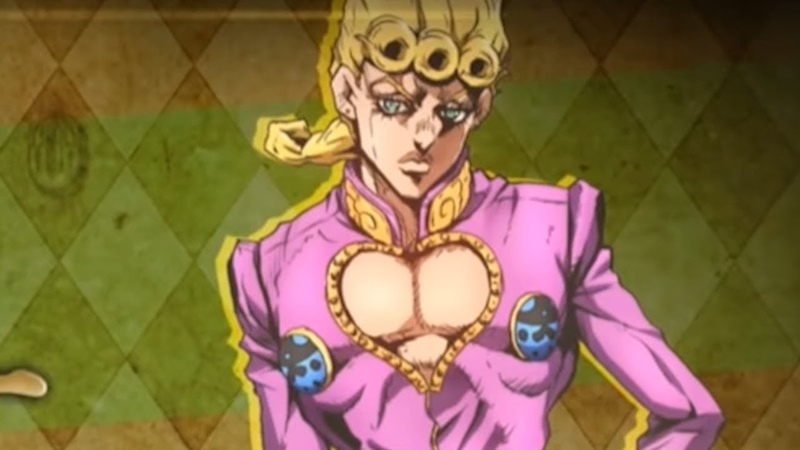 Why Is Giorno Wearing Pink