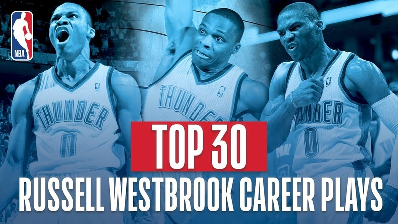Russell Westbrook's Top 30 Plays of His NBA Career