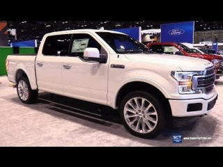 2018 Ford F-150 Supercrew Limited - Exterior and Interior Walkaround - 2018 Chicago Auto Show