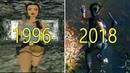 Evolution of Tomb Raider Games 1996 2018