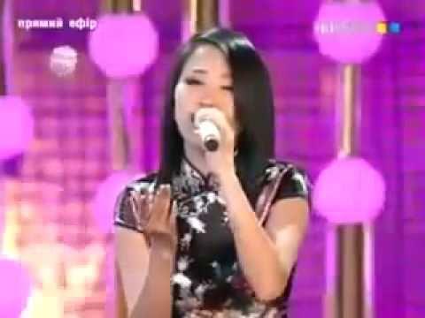 «Подмосковные вечера» на китайском языке