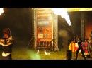 Огненное шоу на закрытии мотофестиваля Ragnarock 2017