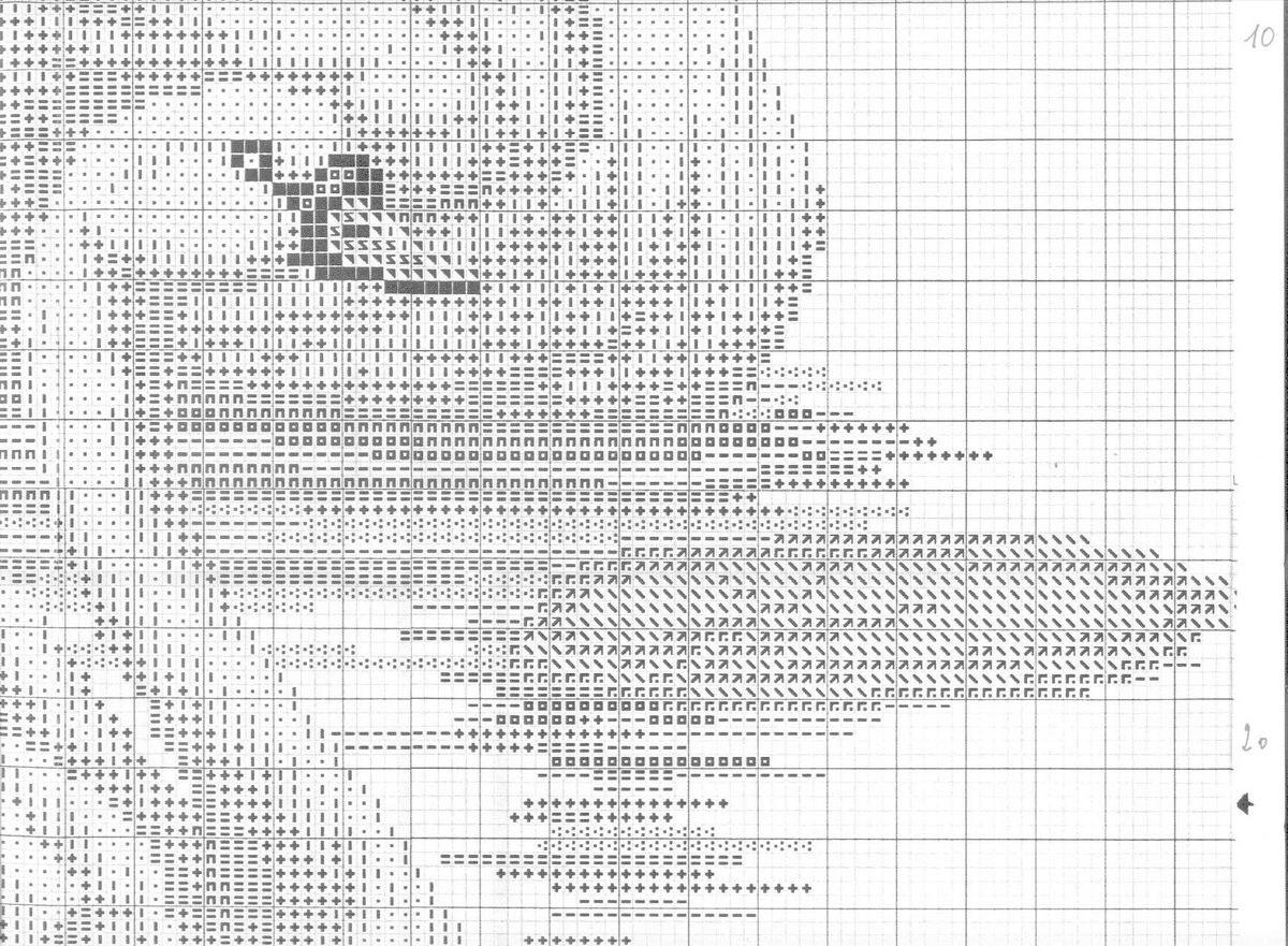 Лебеди вышивка крестом в схемах (фото) - ВЫШИВАШКА 89