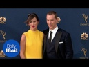 Benedict Cumberbatch Sophie Hunter arrive at the 2018 Emmys