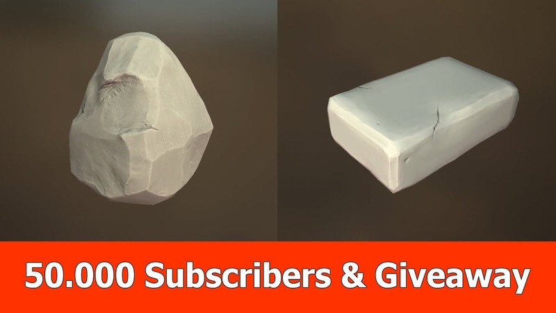 50.000 Subscribers Free Game Asset Giveaways
