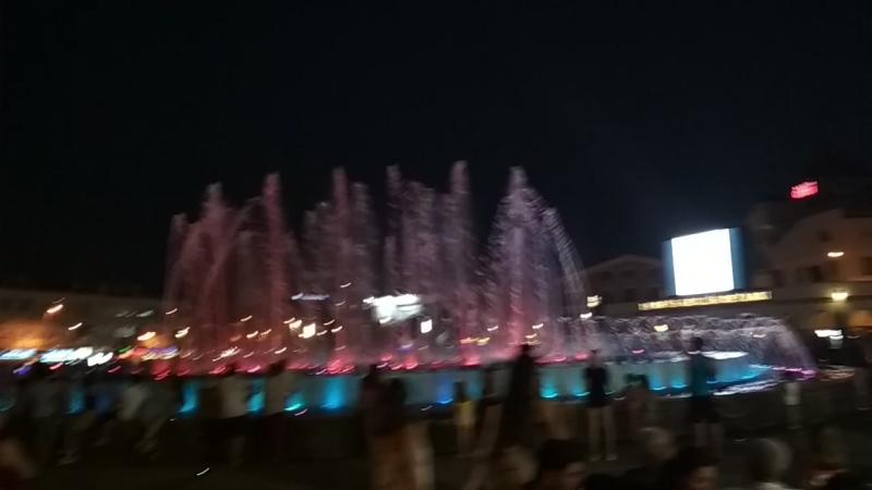 Шоу фонтанов в Мармарисе » Freewka.com - Смотреть онлайн в хорощем качестве