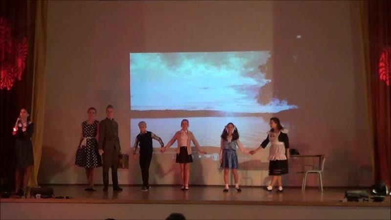 Театральная студия Звезда Прометея лицей № 395 Литературно музыкальная композиция Все еще живы