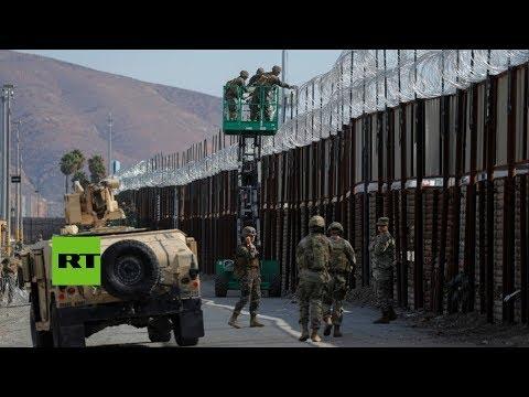 Cruce fronterizo de San Ysidro entre México y EE.UU.